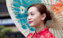Hiina noor naine